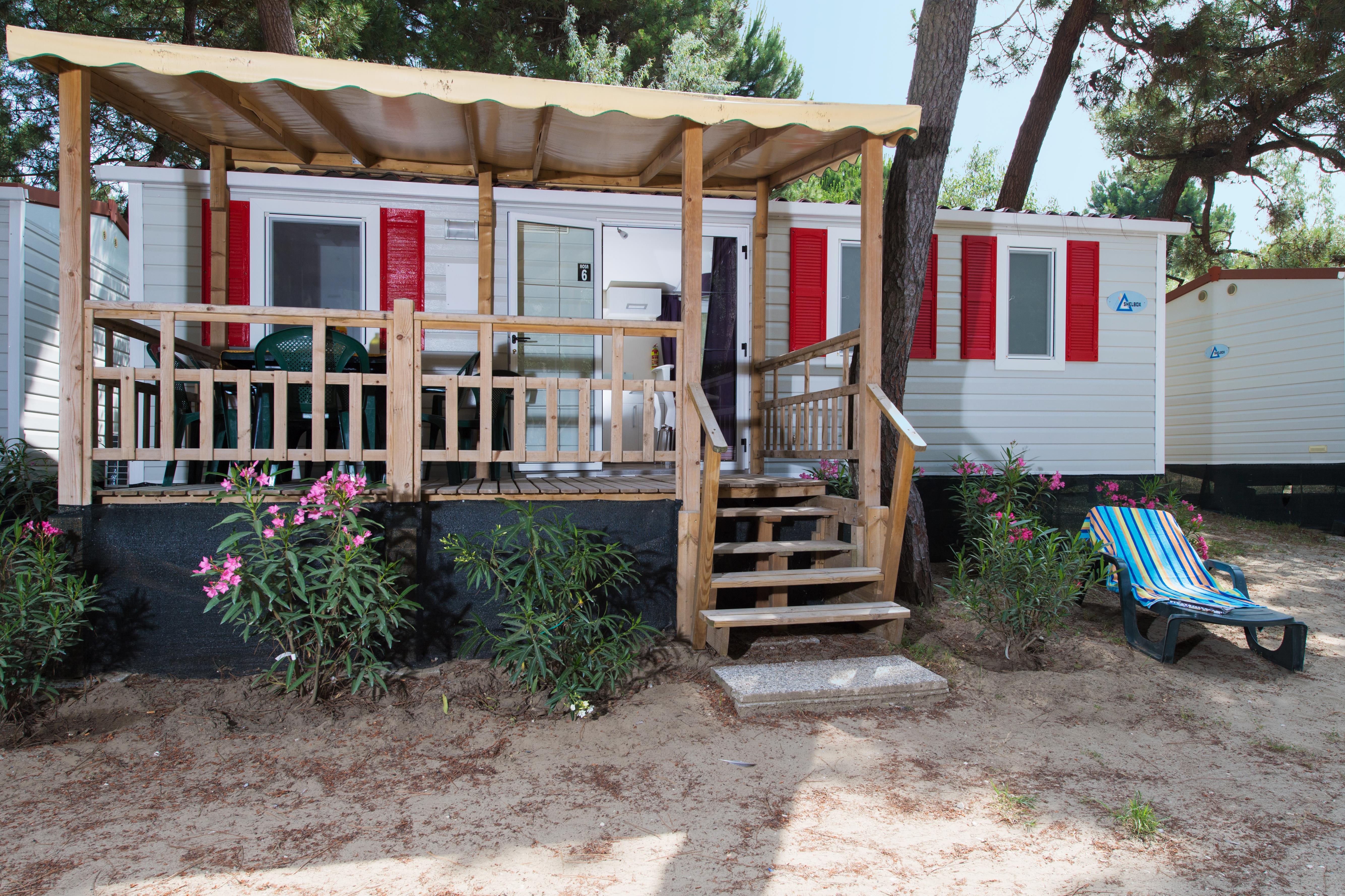 Location - Mobil Home Rosa Beach - International Camping Mare e Pineta