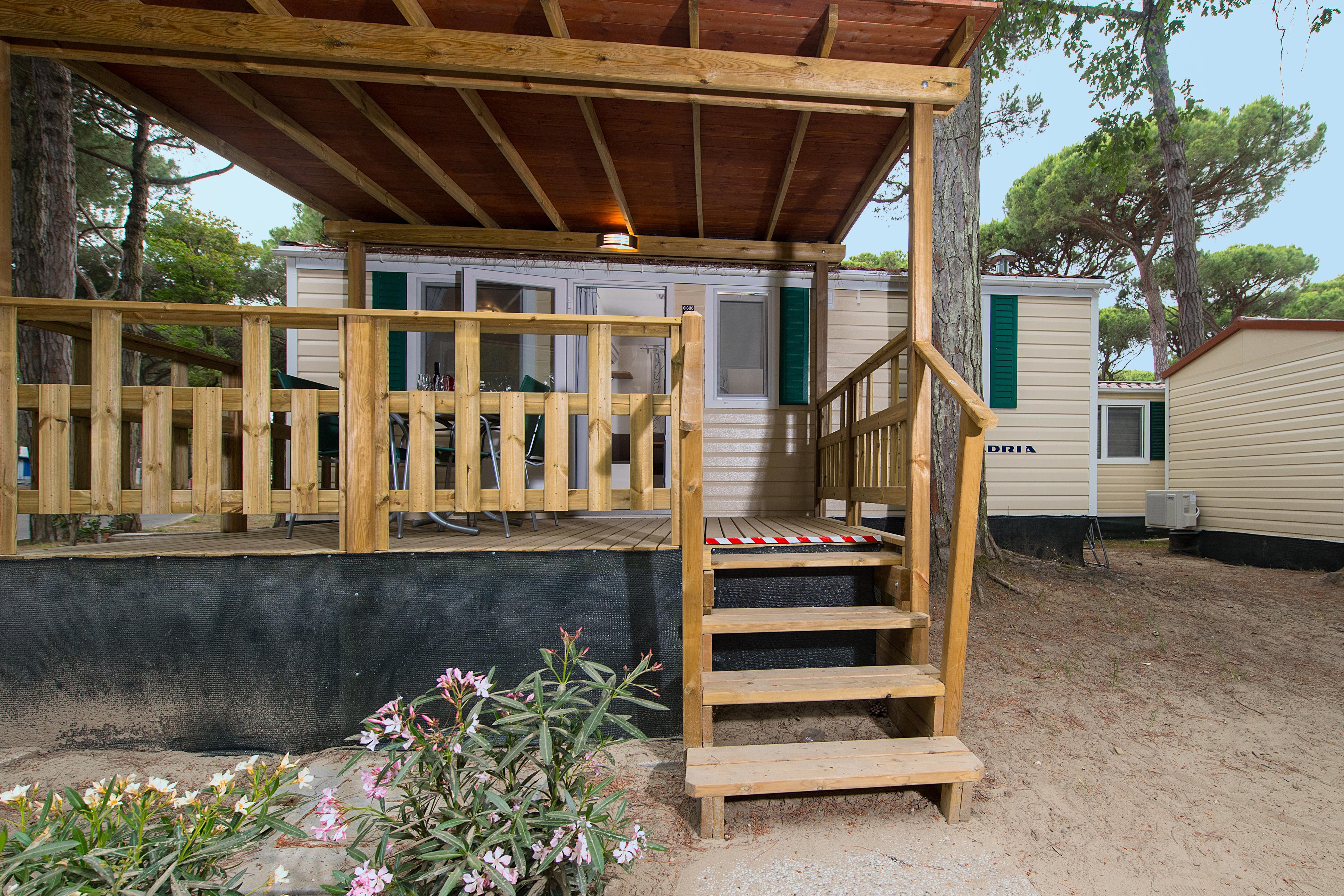 Location - Mobil Home Giglio - International Camping Mare e Pineta