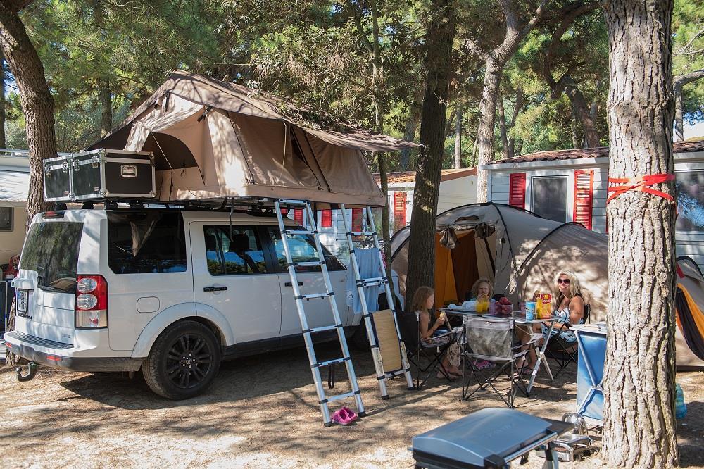 Emplacement - Emplacement  Tente/Caravane Et Voiture - Camping Car - International Camping Mare e Pineta