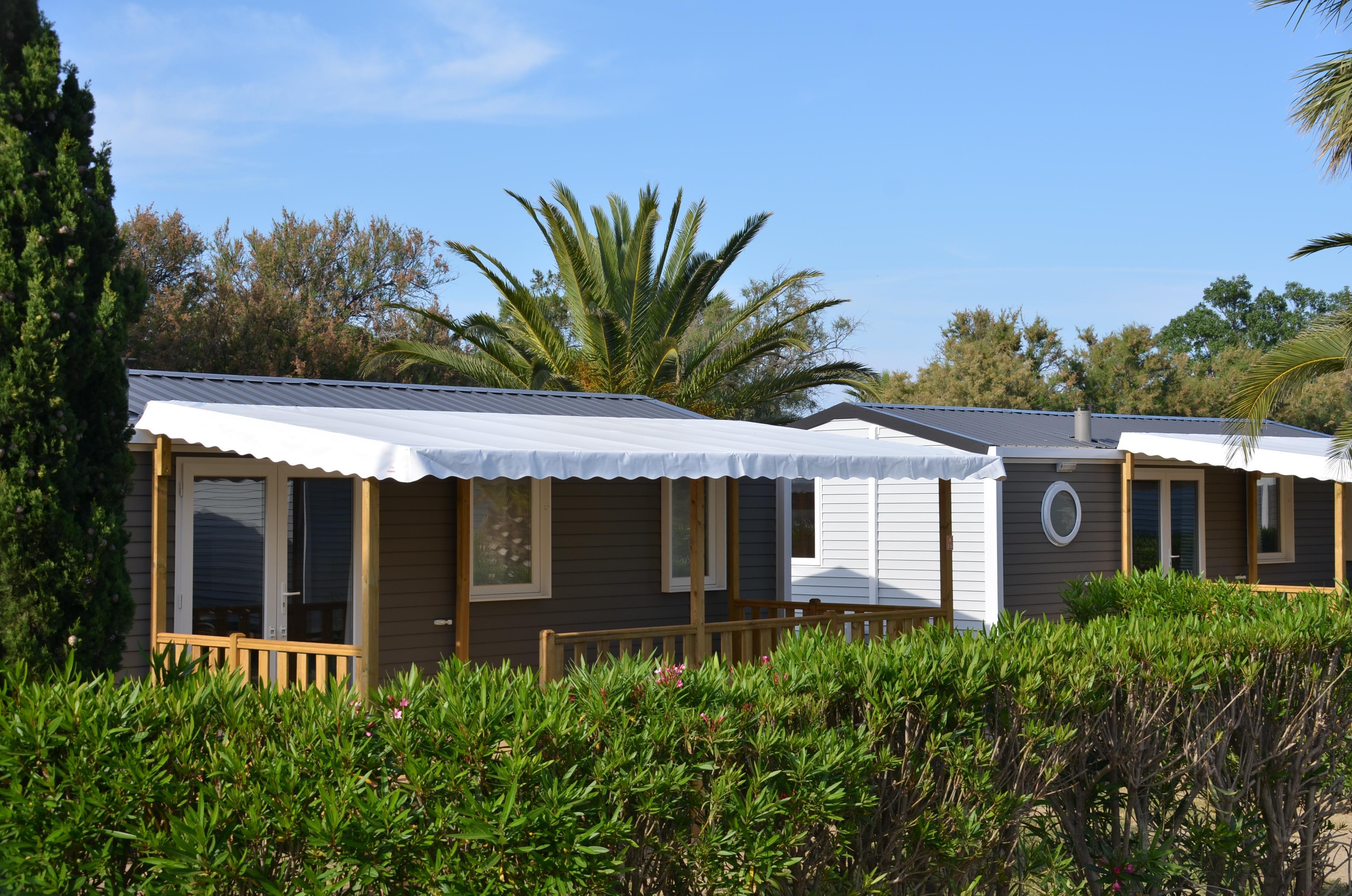 Location - Cottage Tamarin **** 3 Chambres + 1 Salle De Bain + Clim / 35M² - Yelloh! Village Les Tropiques