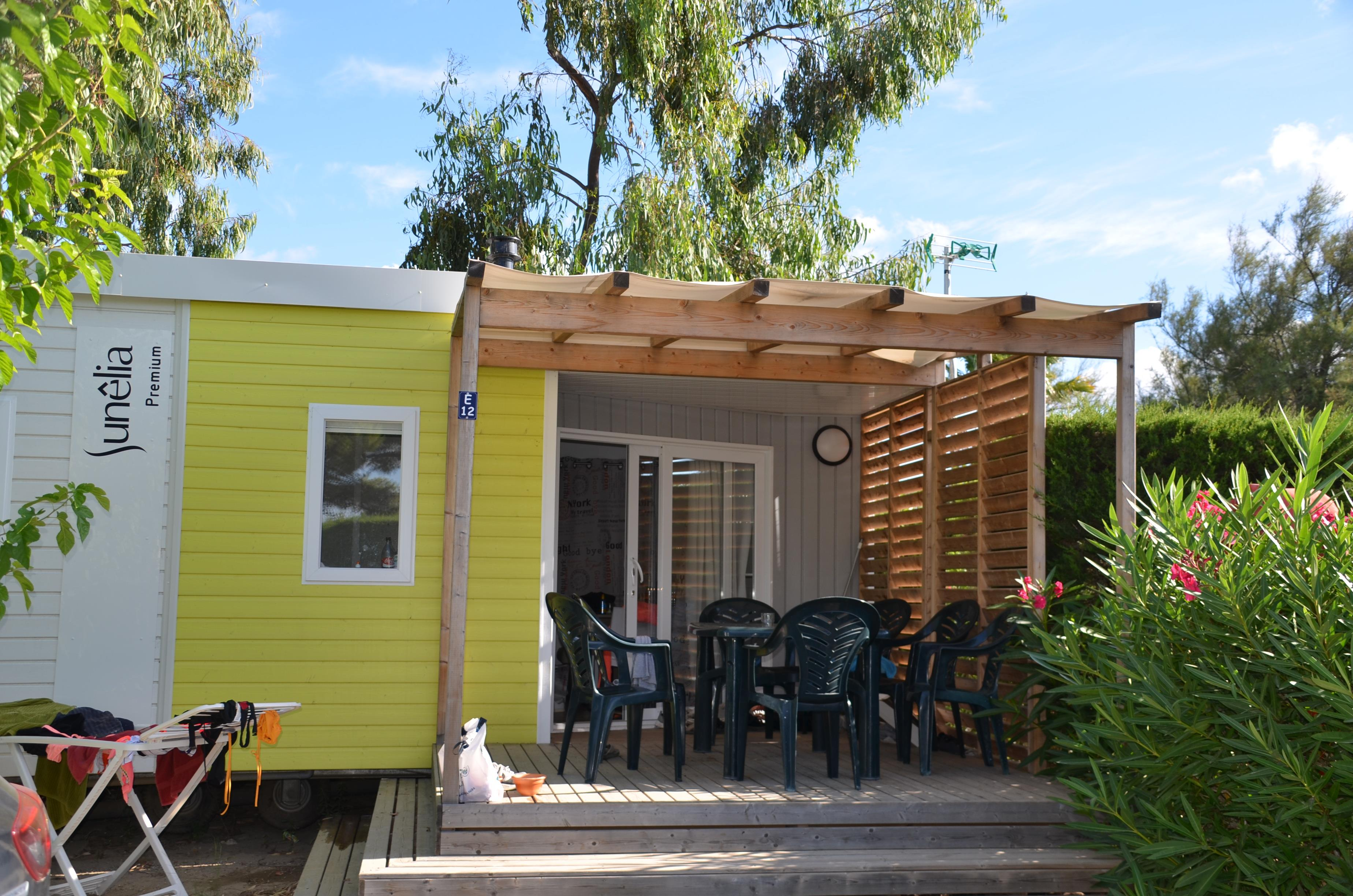 Location - Cottage Cacao *** 3 Chambres + 1 Salle De Bain + Clim / 31M² - Yelloh! Village Les Tropiques