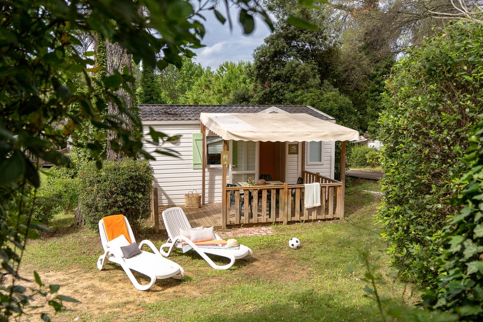 Location - Cottage 2 Chambres** - Camping Sandaya Plein Air des Chênes