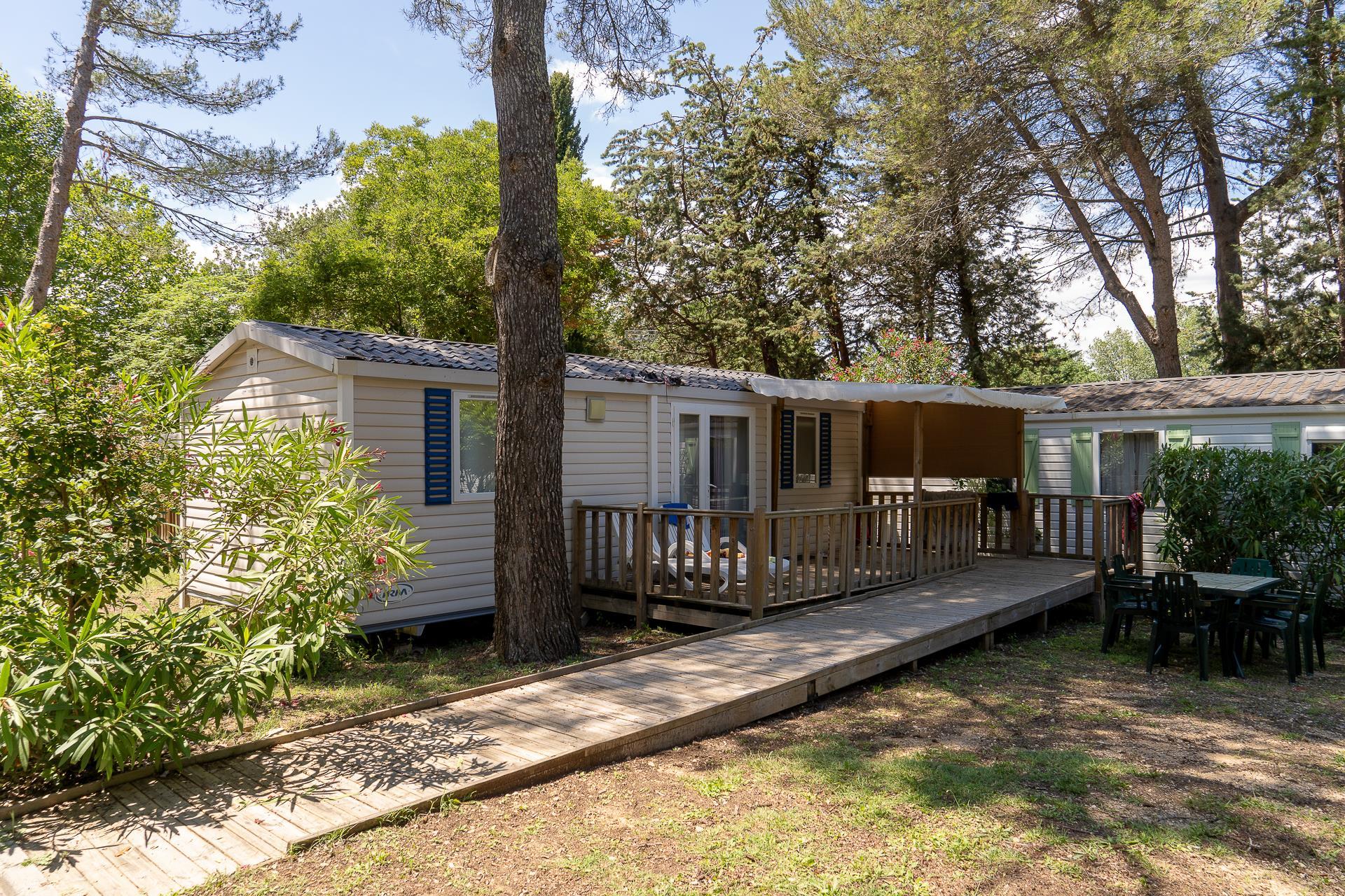 Location - Cottage 2 Chambres *** Adapté Aux Personnes À Mobilité Réduite - Camping Sandaya Plein Air des Chênes