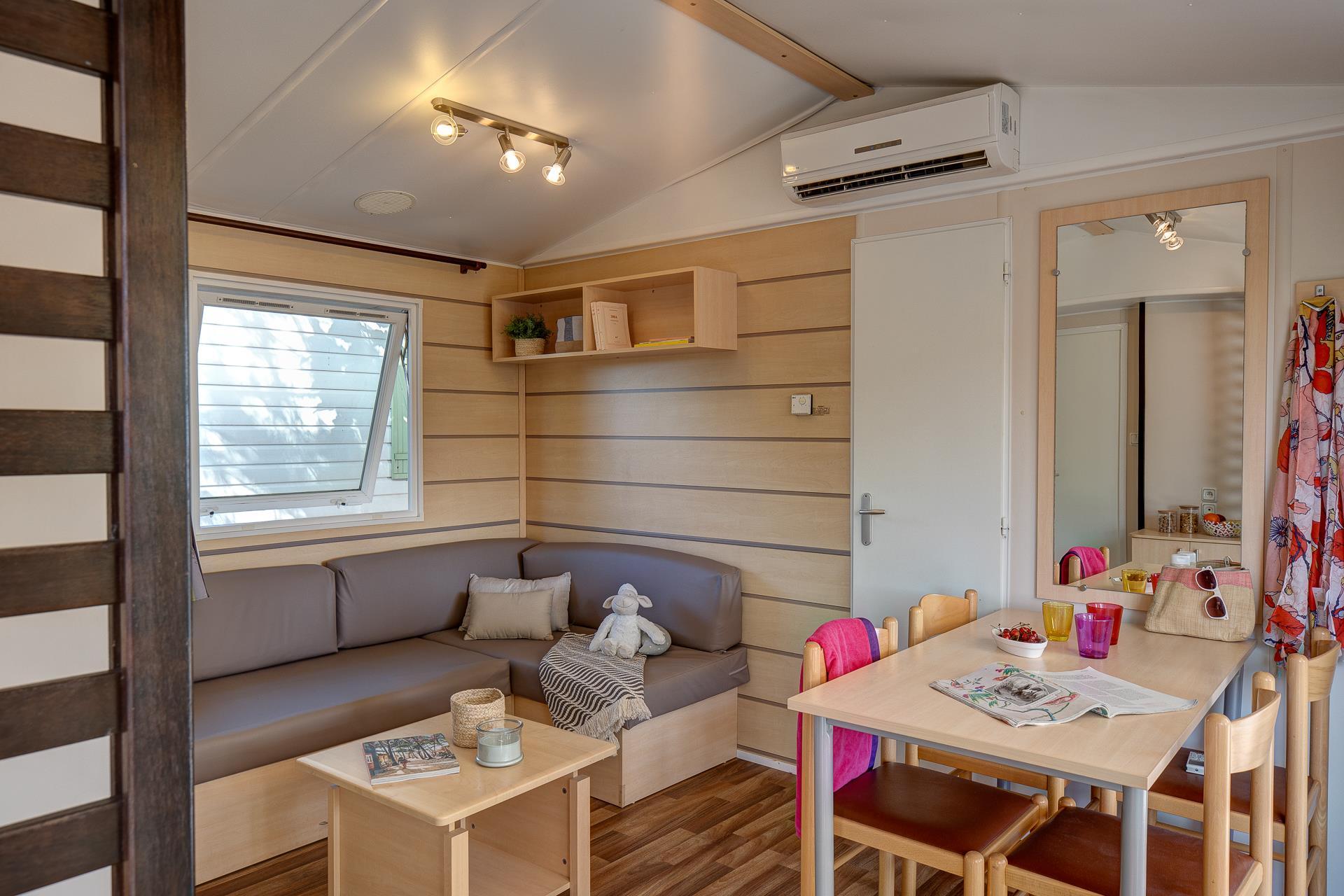 Location - Cottage 2 Chambres - 2 Salles De Bains Climatisé*** - Camping Sandaya Plein Air des Chênes