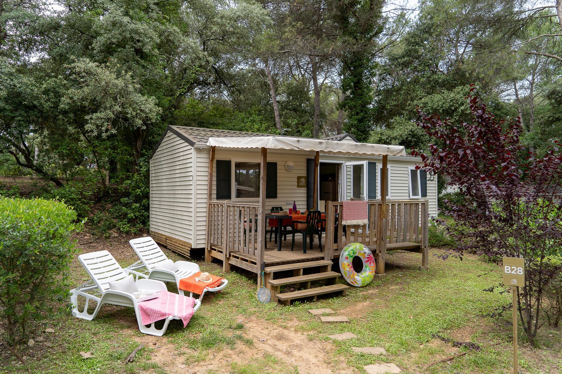 Location - Cottage 3 Chambres Climatisé*** - Camping Sandaya Plein Air des Chênes