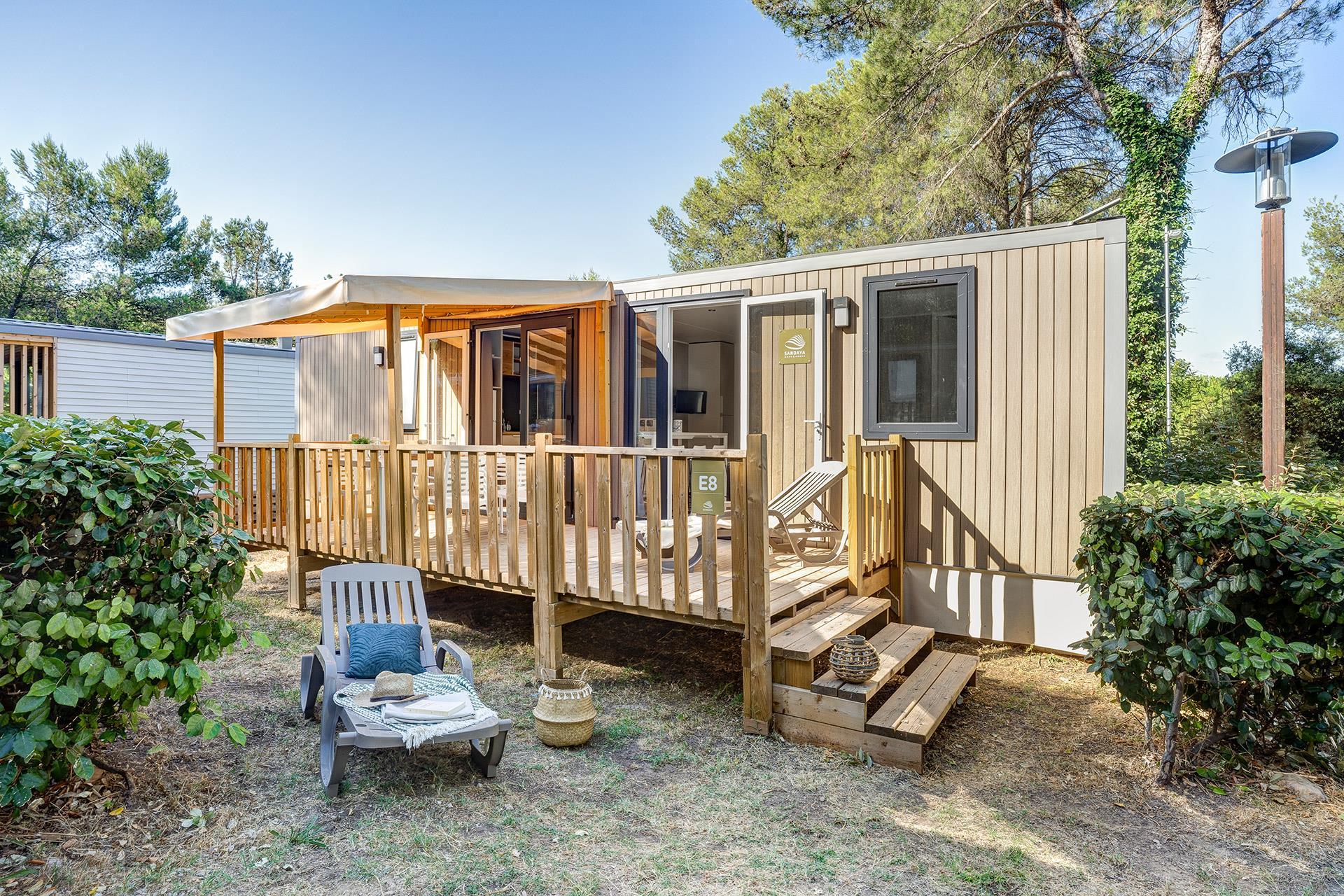 Location - Cottage 3 Chambres  2 Salles De Bain Climatisé**** - Camping Sandaya Plein Air des Chênes