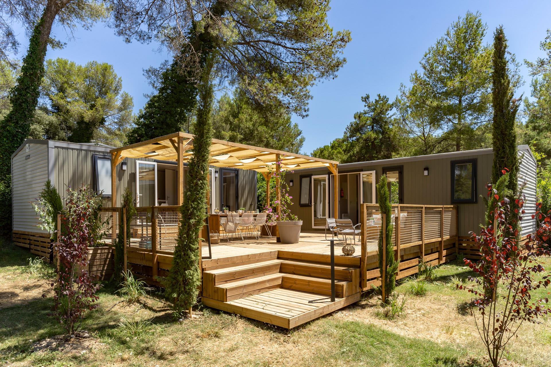 Location - Cottage Friends 5 Chambres **** - Camping Sandaya Plein Air des Chênes