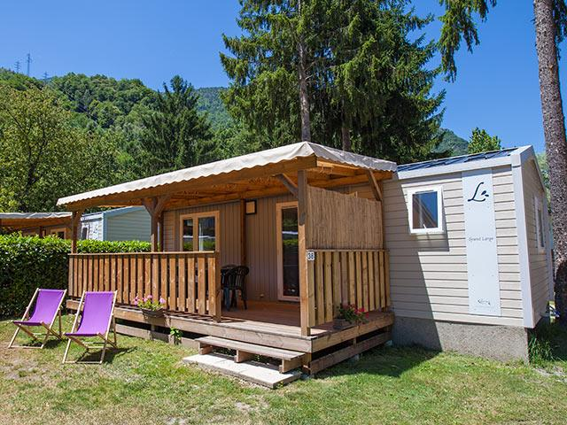 Location - Mobil Home Louisiane - Camping des Neiges