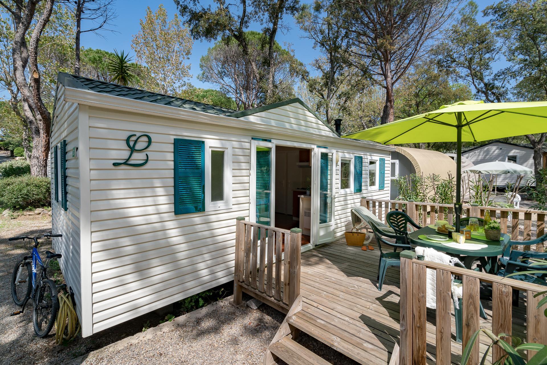 Location - Cottage 2 Chambres Climatisé *** - Camping Sandaya Douce Quiétude