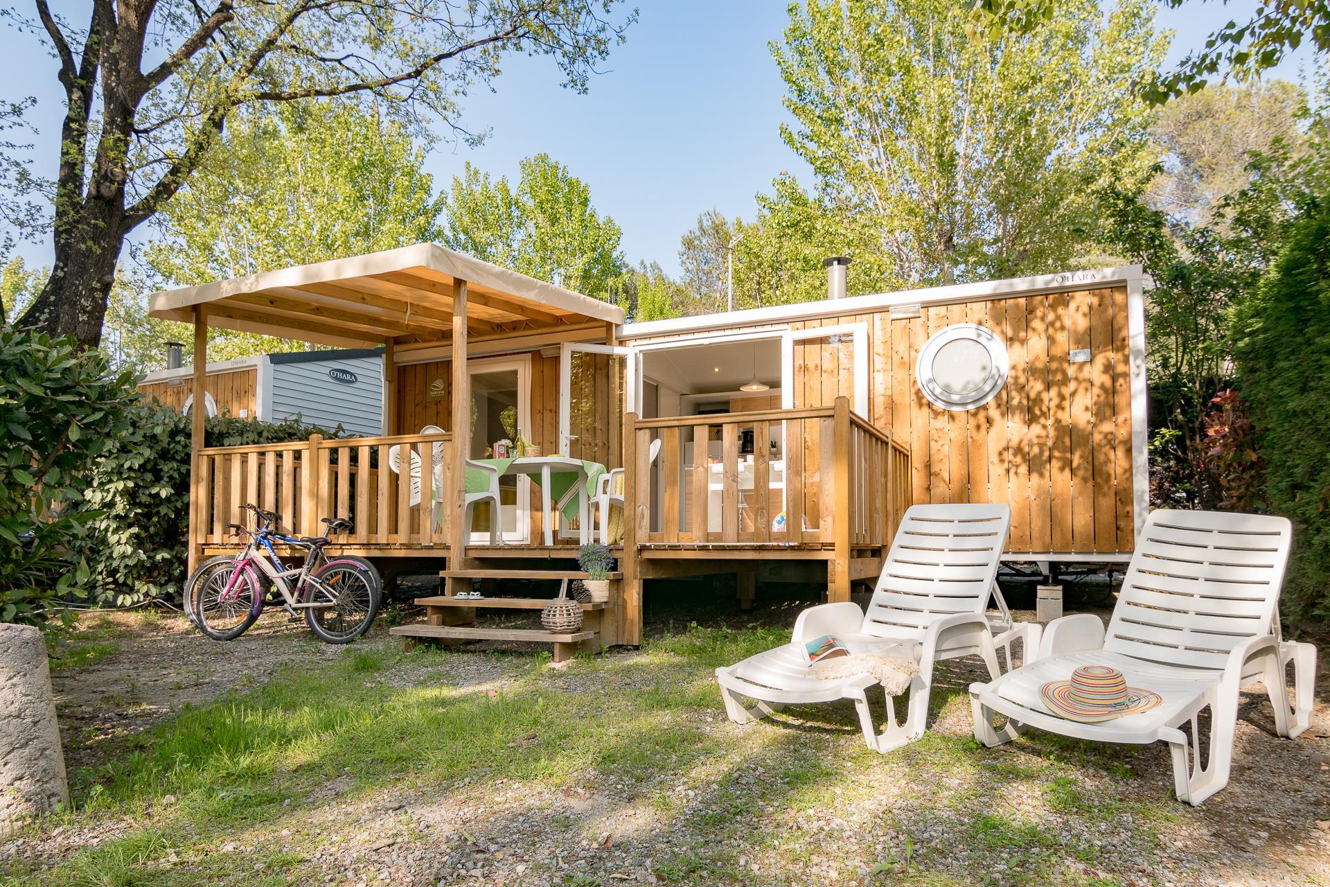 Location - Cottage Esterel 2 Chambres Climatisé *** - Camping Sandaya Douce Quiétude