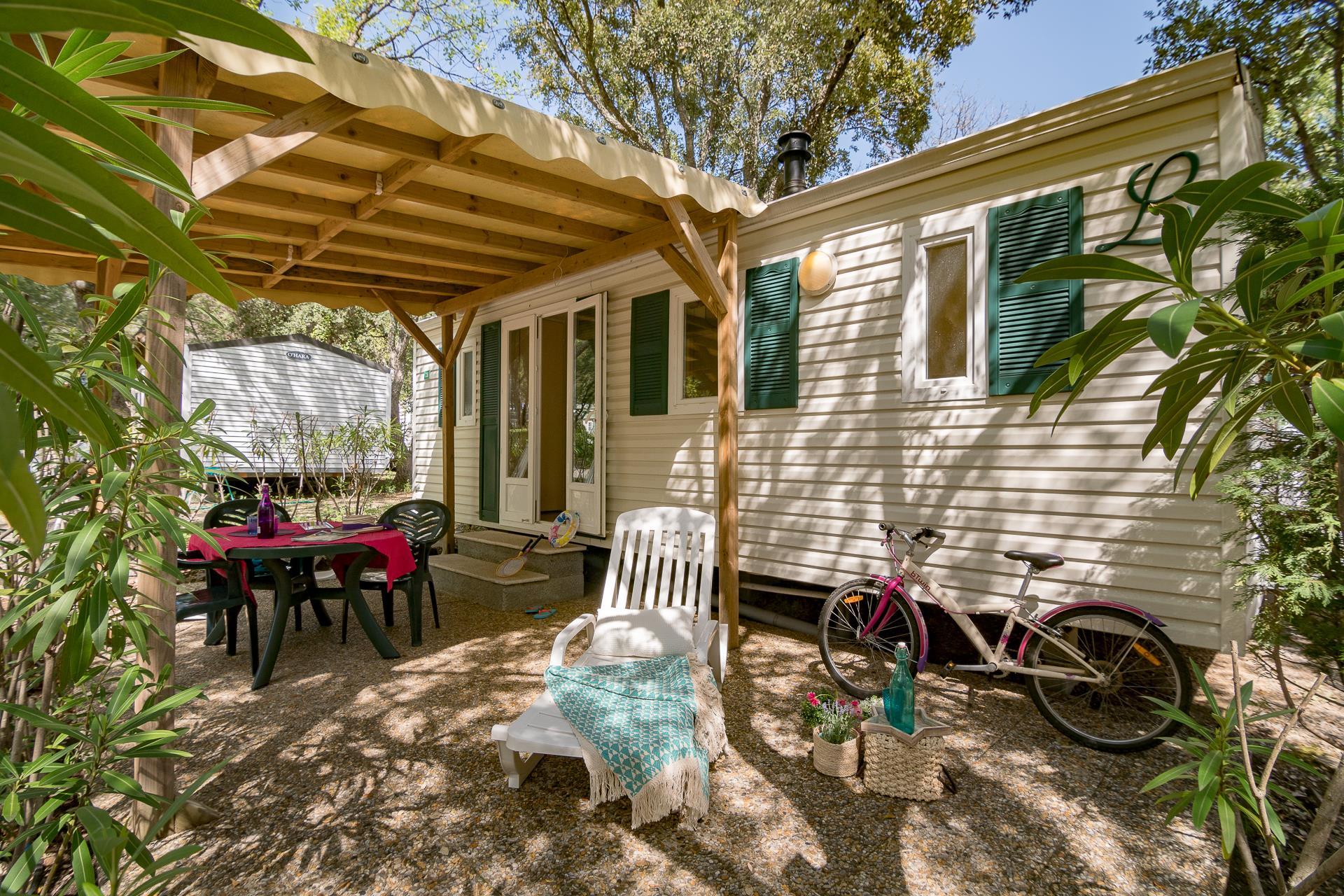Location - Cottage 3 Chambres Climatisé ** - Camping Sandaya Douce Quiétude