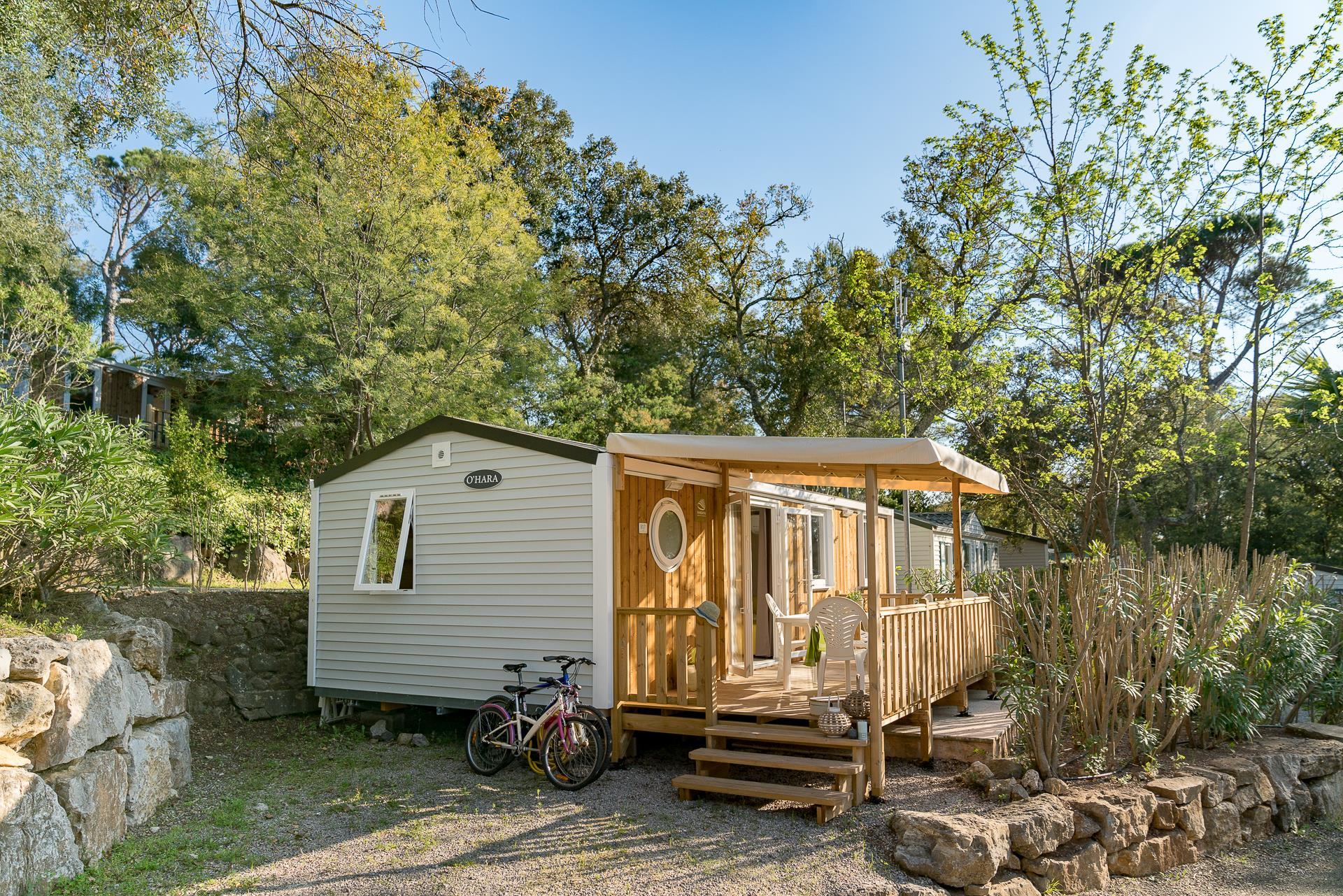 Location - Cottage 3 Chambres Climatisé *** - Camping Sandaya Douce Quiétude