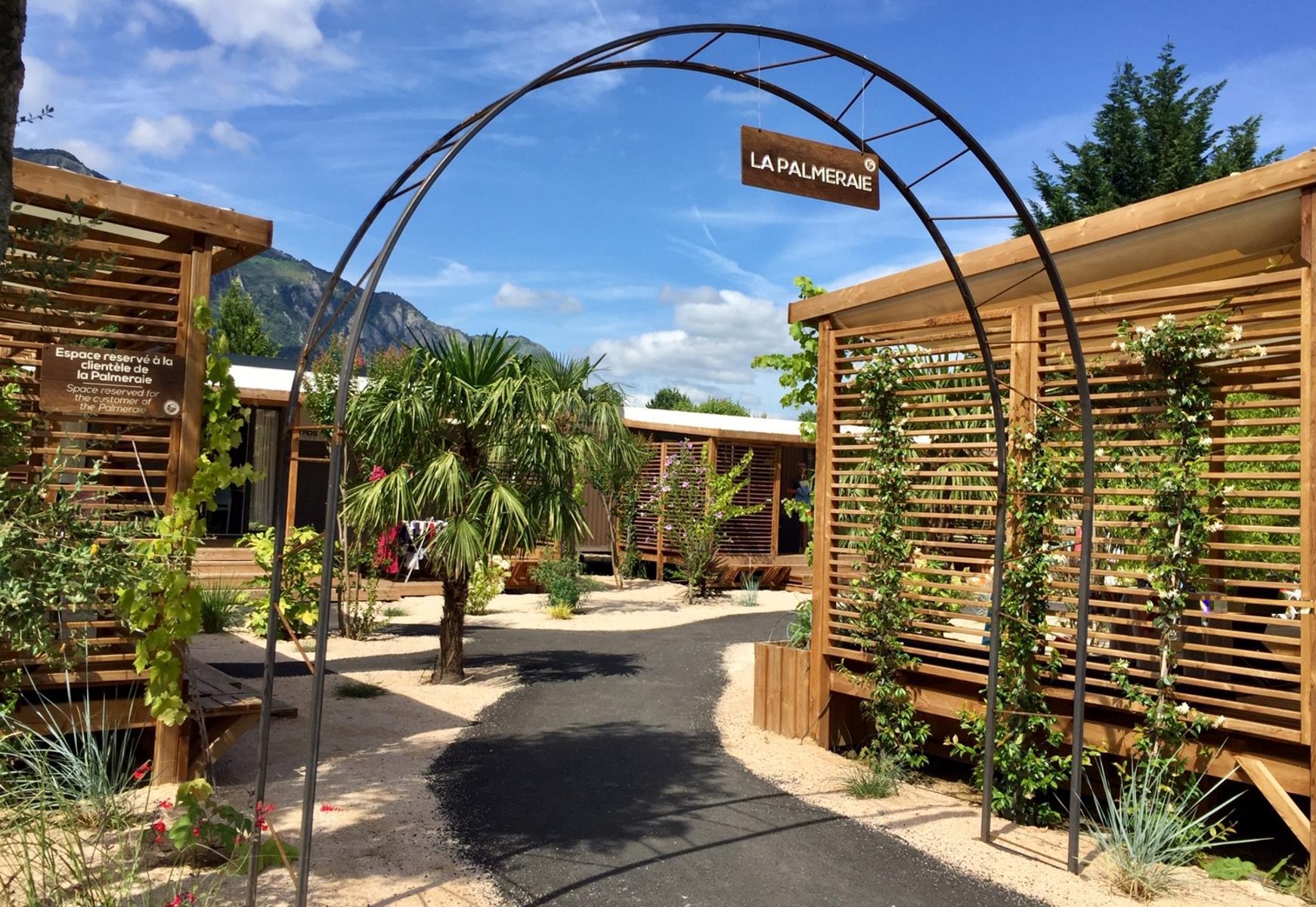 Location - Sunelia Prestige Palmeraie 40M² (3 Chambres + 2 Salles De Bain) Wifi Offert Et 1 Vélo Électrique - Sunêlia Camping Les 3 Vallées