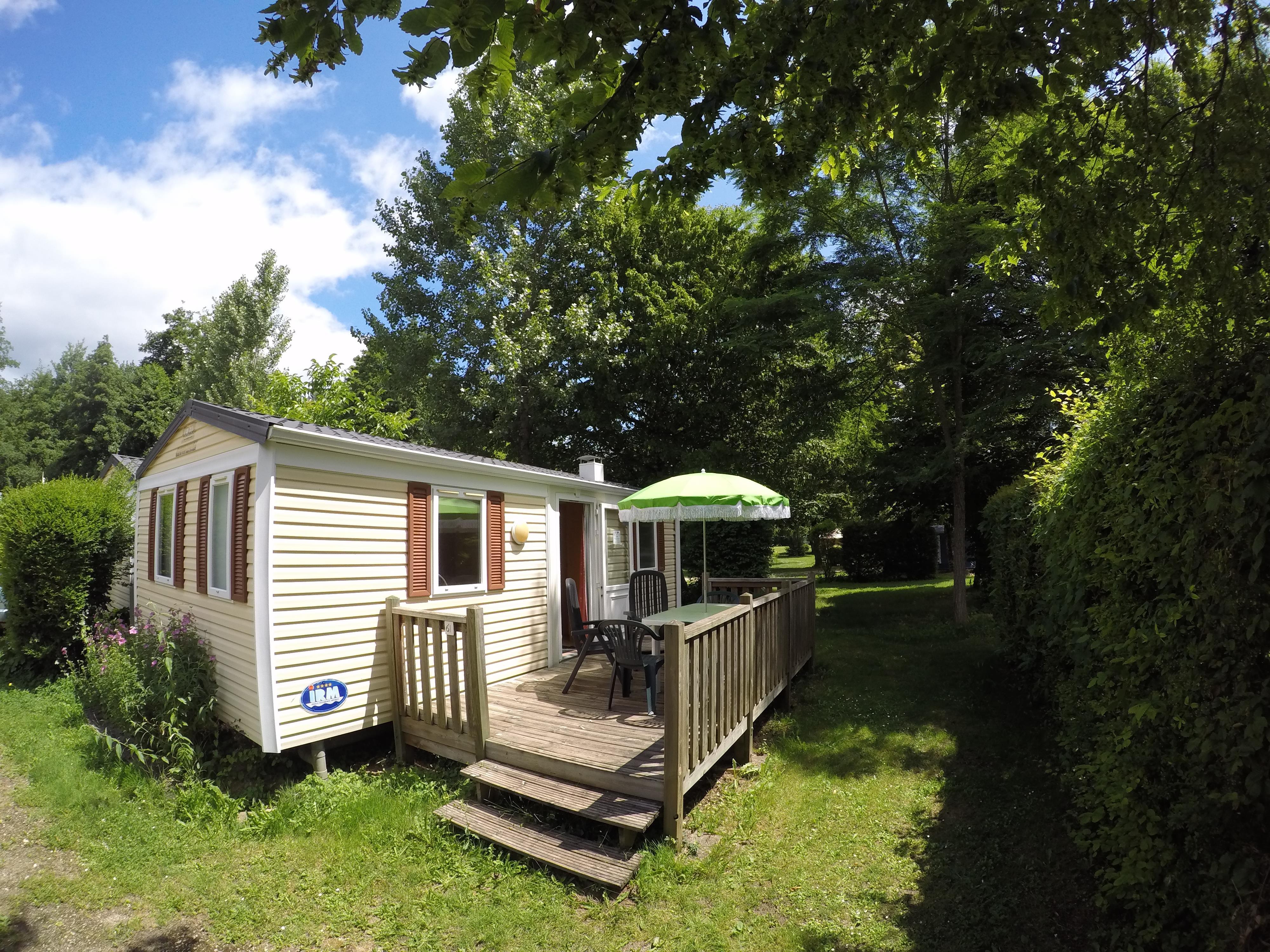 Location - Mobilhome Mercure - Camping Les Deux Vallées