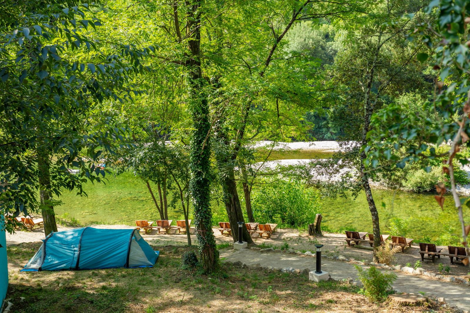 Camping les Plans, Mialet, Gard