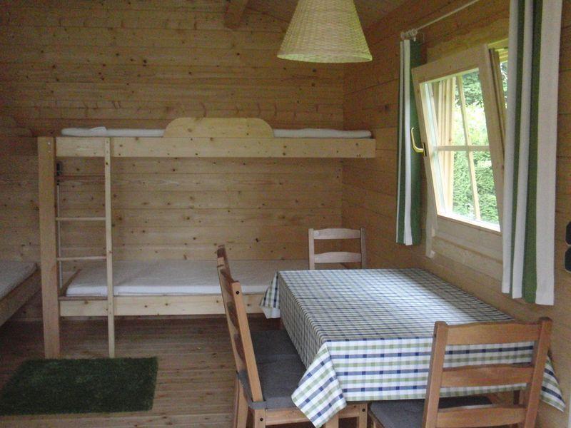 Location - Chalet Vert - Camping Zum Oertzewinkel
