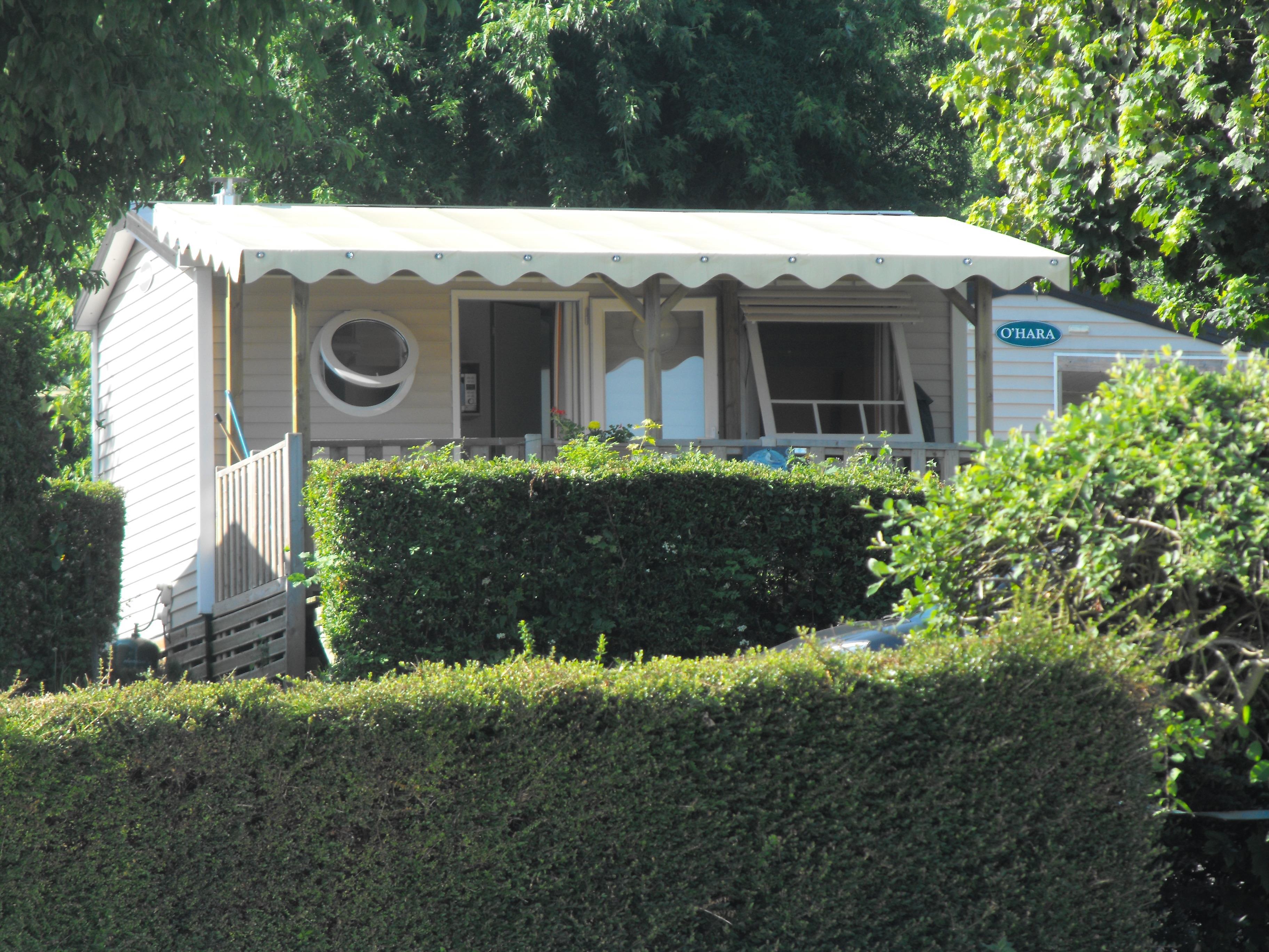 Location - Mobilhome Ohara (1 Chambre) 21.5M² - Camping Vieille Église