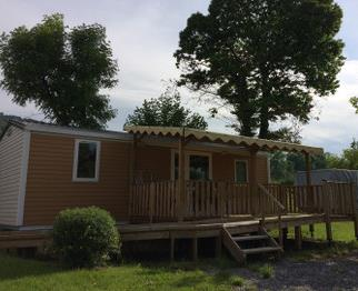 Location - Mobilhome Pmr (2 Chambres) - Camping Vieille Église