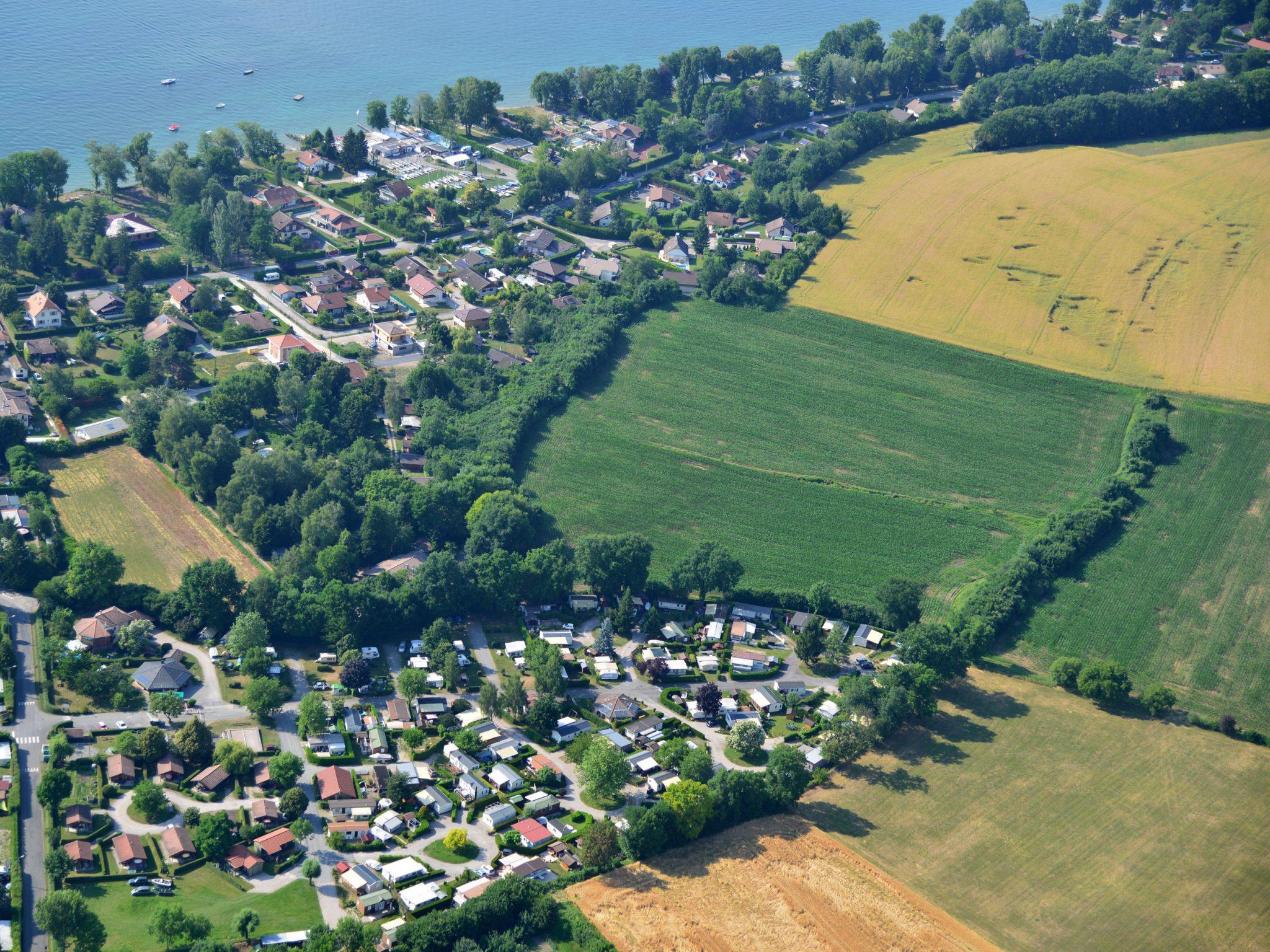 Camping le Chatelet, Sciez, Haute-Savoie