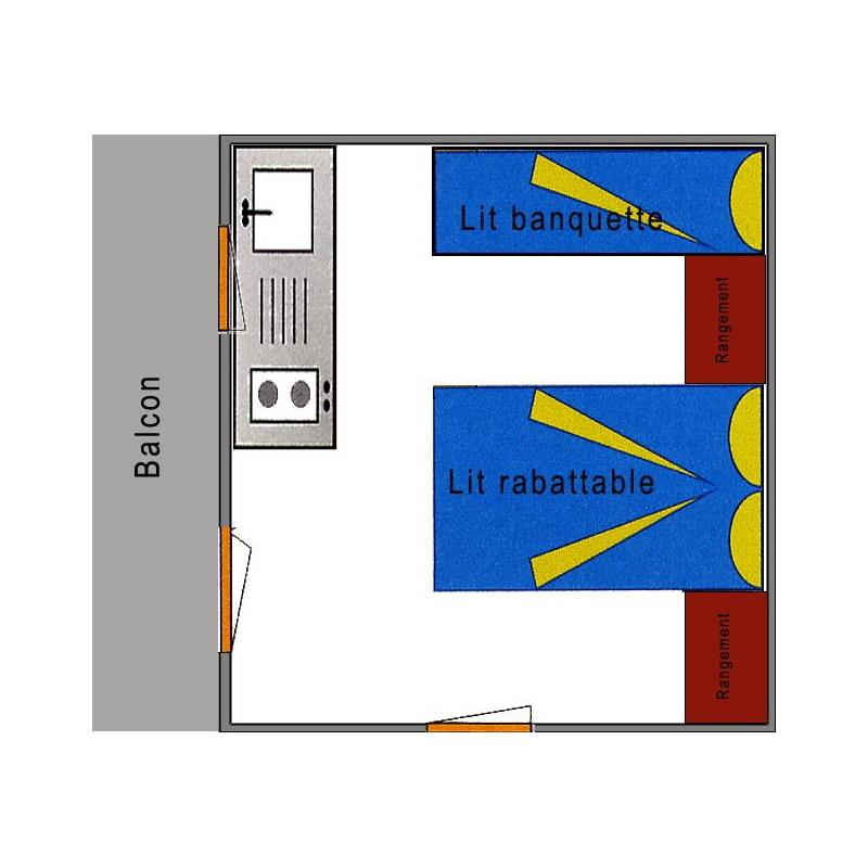 Location - Chalet 12 M² Sans Sanitaire - Camping Du Chatelet