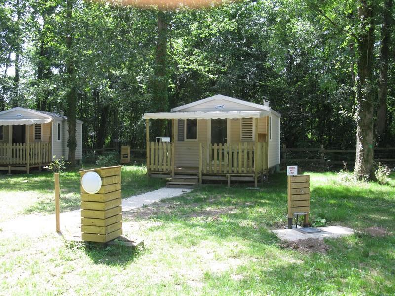 Location - Mobil-Home Astria B (Ombrage) Semaine Ou Nuitées - Camping Le Bois du Coderc