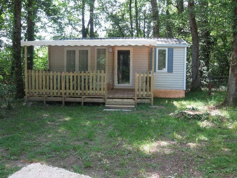 Location - Mobil-Home Super Riviera 2012 Semaine Ou Nuitées - Camping Le Bois du Coderc