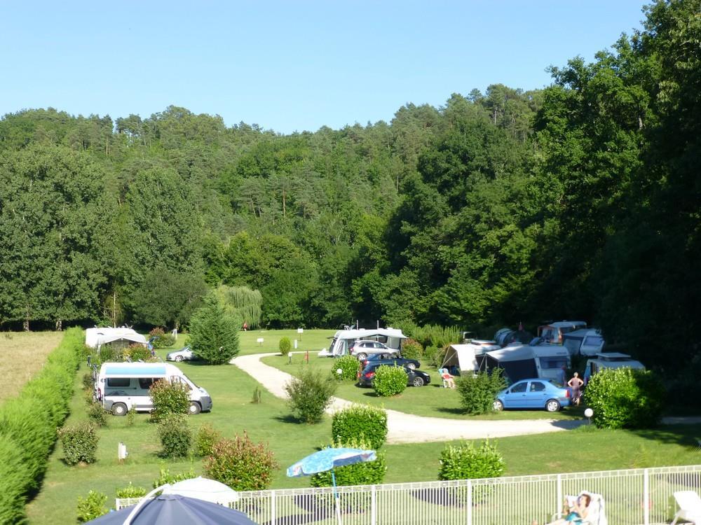 Emplacement - Emplacement Tente/Caravane/Camping Car + 1 Personne - Camping Le Bois du Coderc