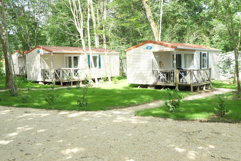 Location - Mobil Home Ohara Confort Du Samedi Au Samedi - Camping Le Bois du Coderc