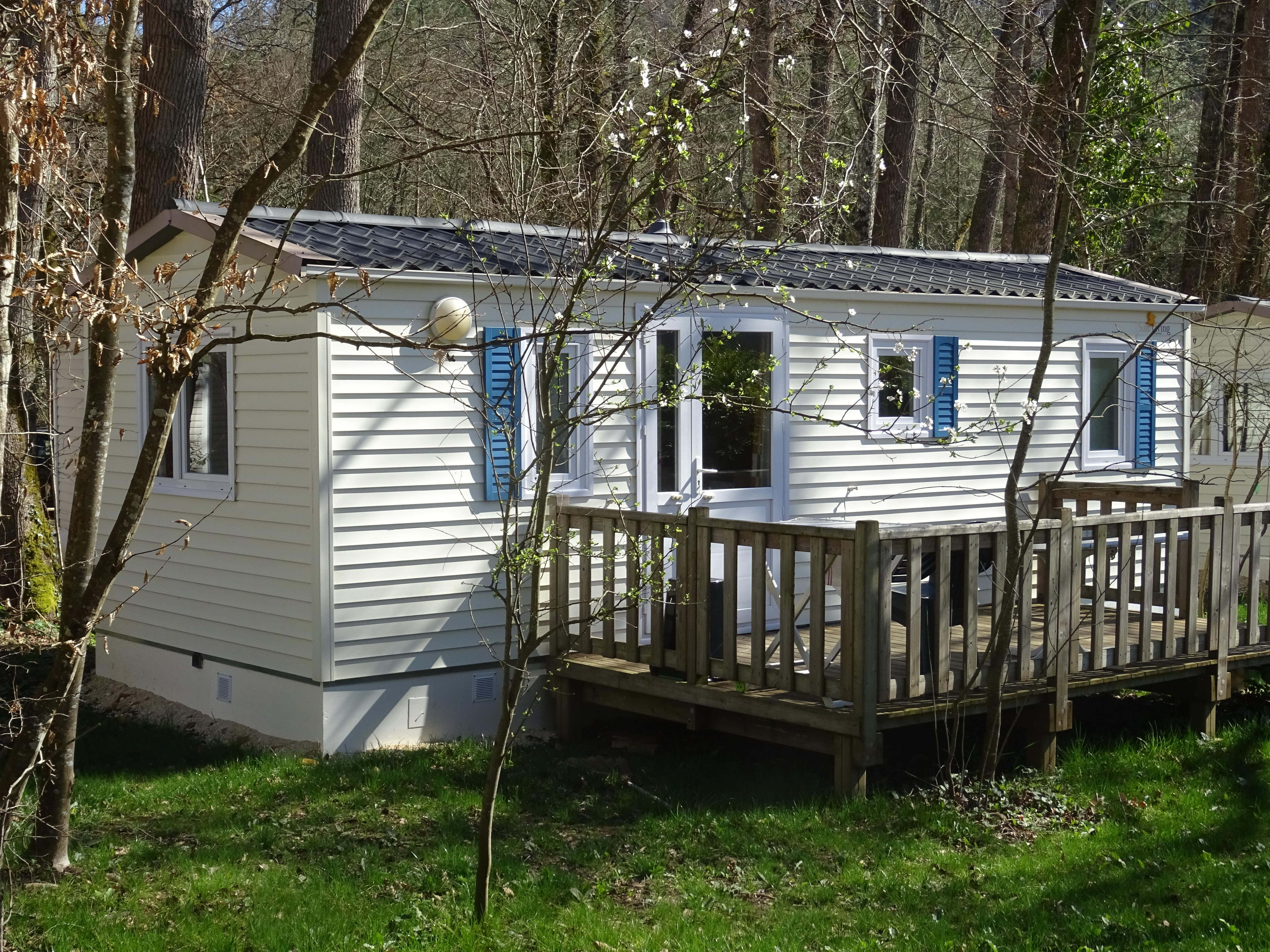 Location - Mobil-Home Titania  Ou Sun Roller Semaine Ou Nuitées - Camping Le Bois du Coderc