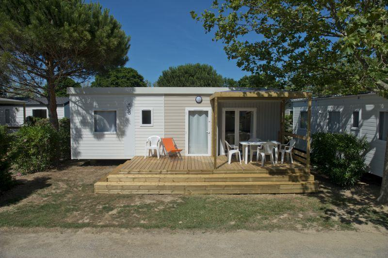 Location - Mobil-Home Caraïbes Climatisé 2 Chambres - Chadotel Camping Le Roussillon