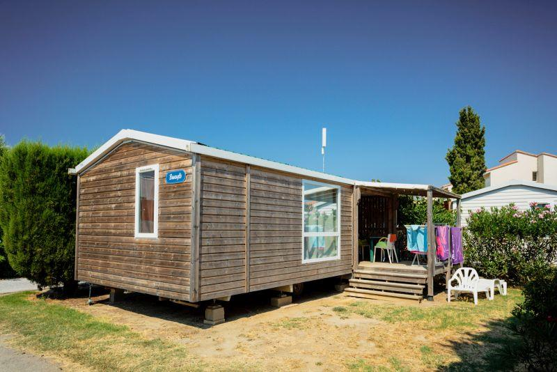 Location - Mobil-Home Caraïbes 2 Chambres - Chadotel Camping Le Roussillon