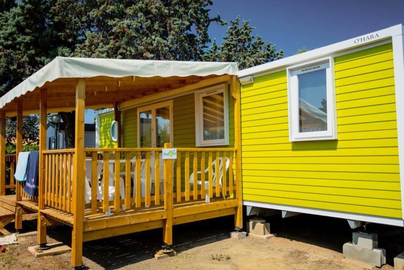 Location - Mobil-Home Baltique 3 Chambres - Chadotel Camping Le Roussillon
