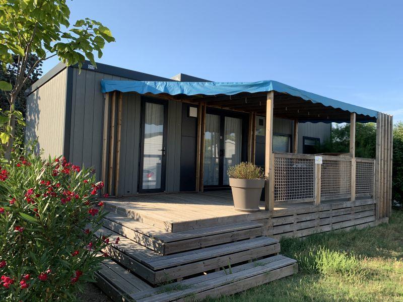 Location - Mobil-Home Méditerranée  Vip 3 Chambres - Chadotel Camping Le Roussillon