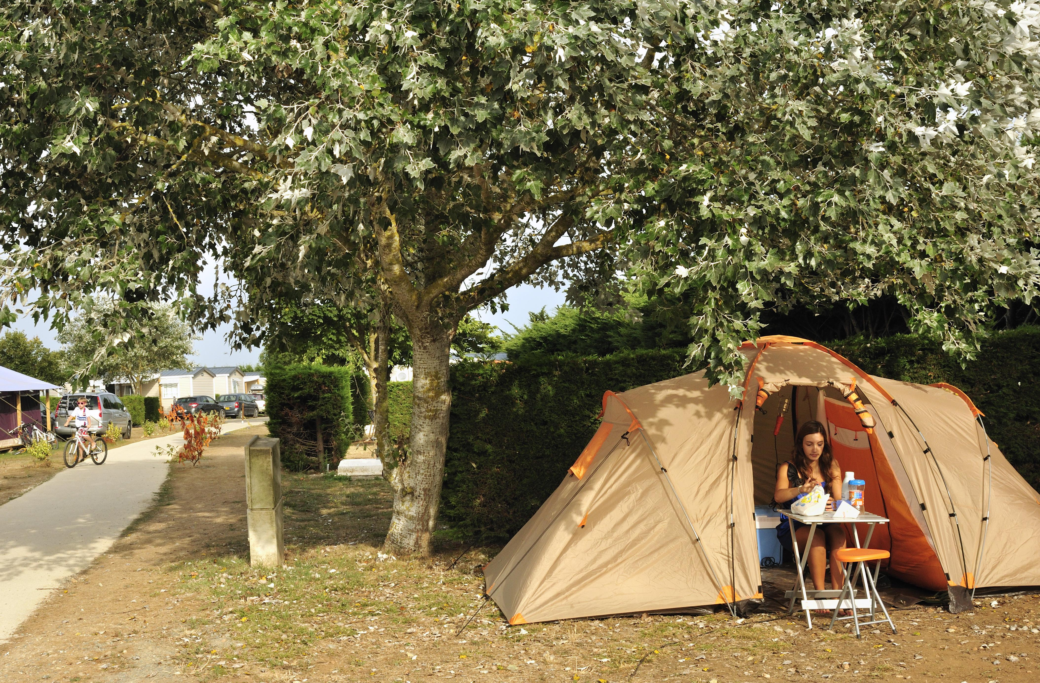 Emplacement - Forfait Confort (1 Tente, Caravane Ou Camping-Car / 1 Voiture / Électricité 10A) - Camping Les Ilates