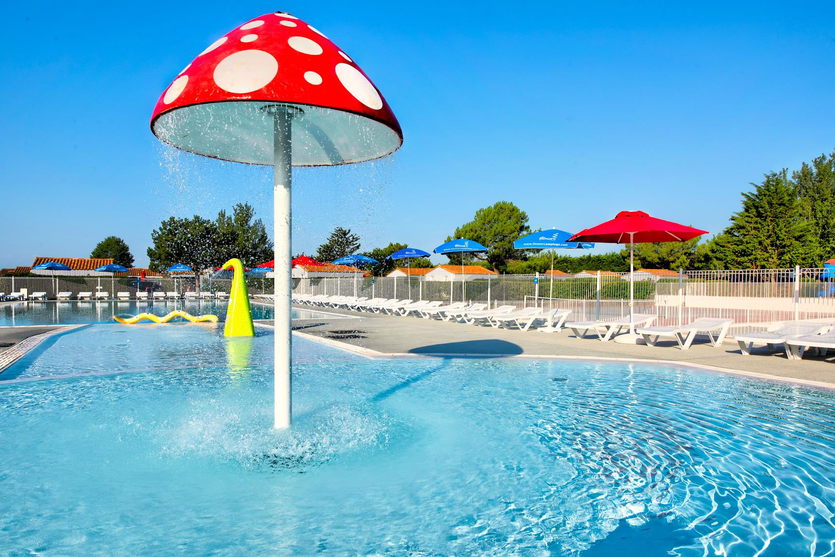 Services & amenities Flower Camping Les Ilates - Loix