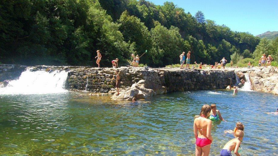 Camping le Ventadour, Meyras, Ardèche