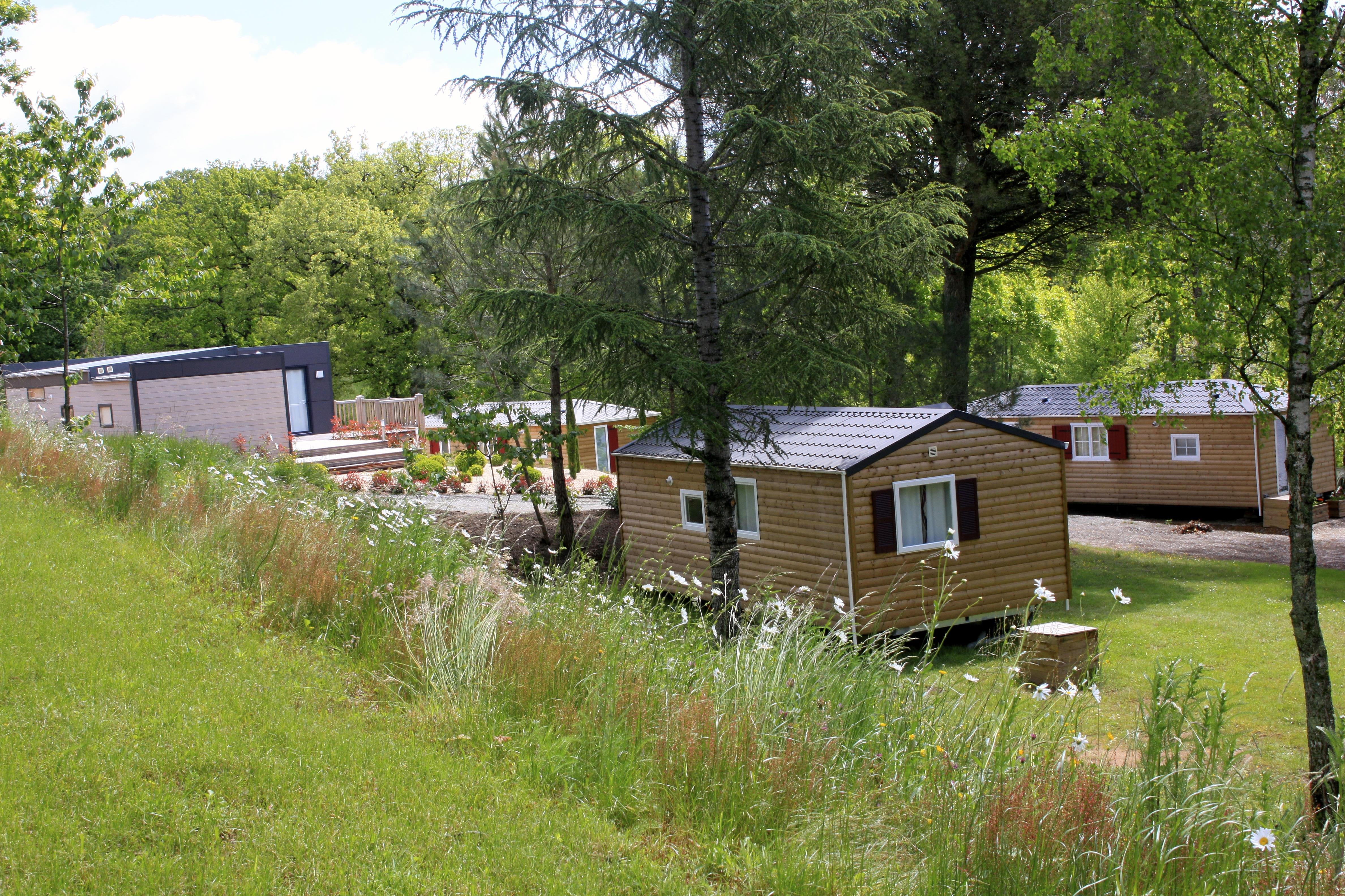 Camping les Résidences du Bosquet, La Fouillade, Aveyron