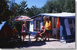 Package Grand Confort - Tent, Caravan Or Motorhome,  Electricity + Water Point