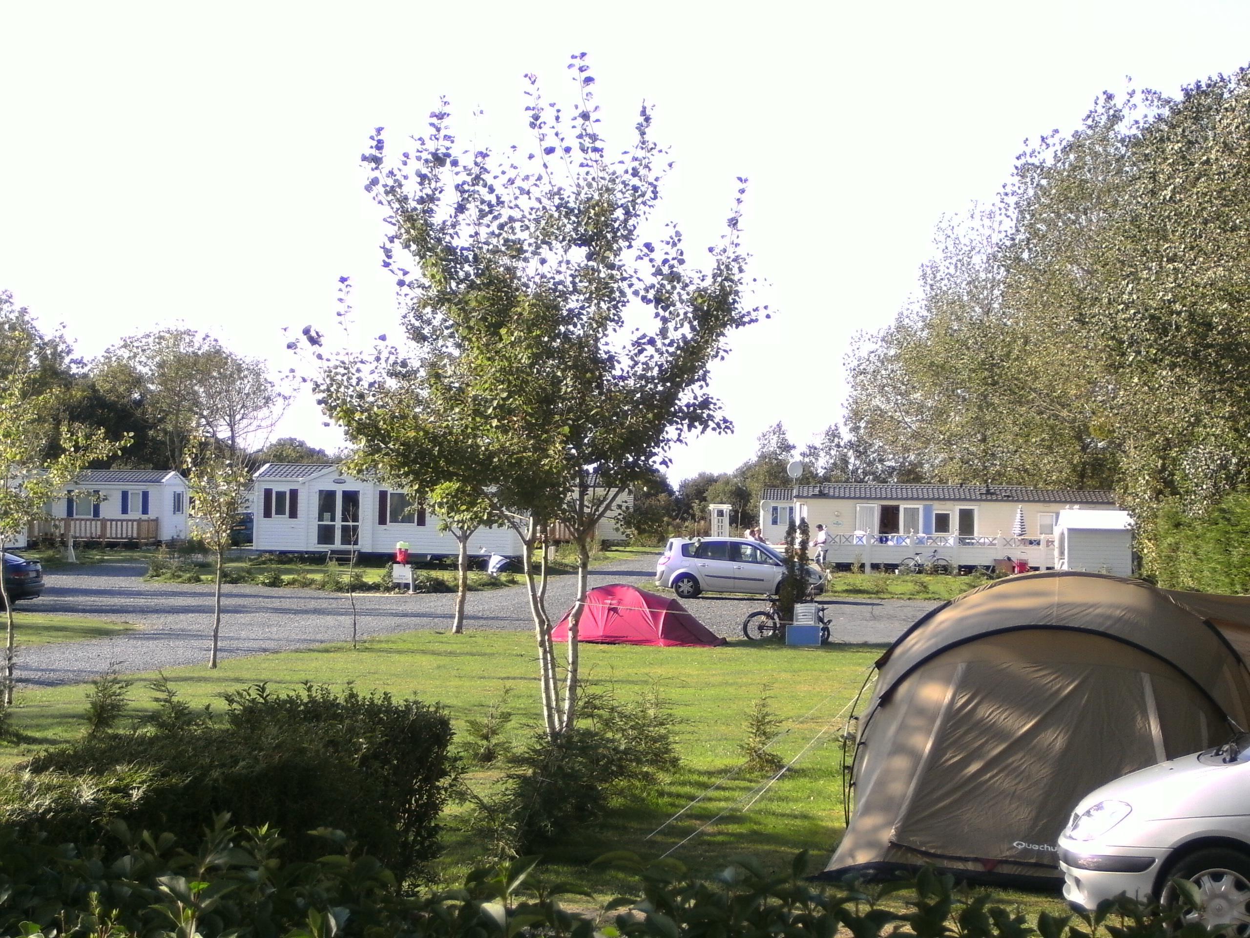 Camping le Robinson, Colleville-sur-Mer, Calvados