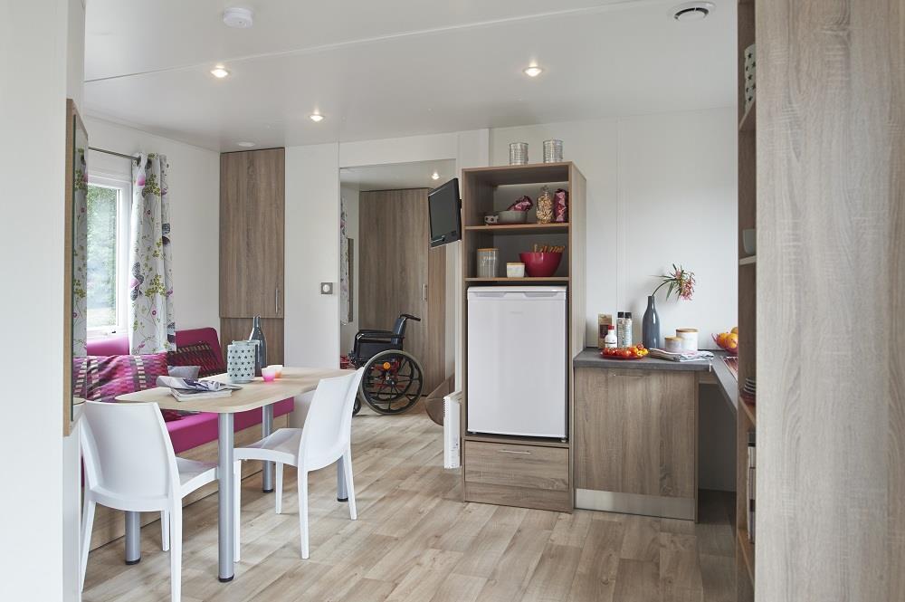 Location - Mobil Home Ciela Confort Pmr - 34M² - 2 Chambres - Climatisation Réversible Et Tv - Camping La Farigoulette