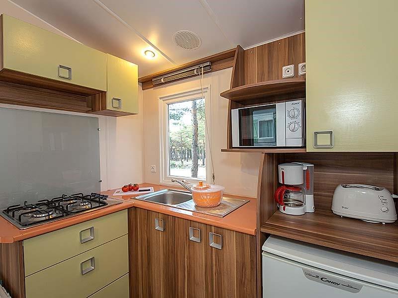 Location - Mobil Home Ciela Family - 26M² - 2 Chambres - Camping La Farigoulette