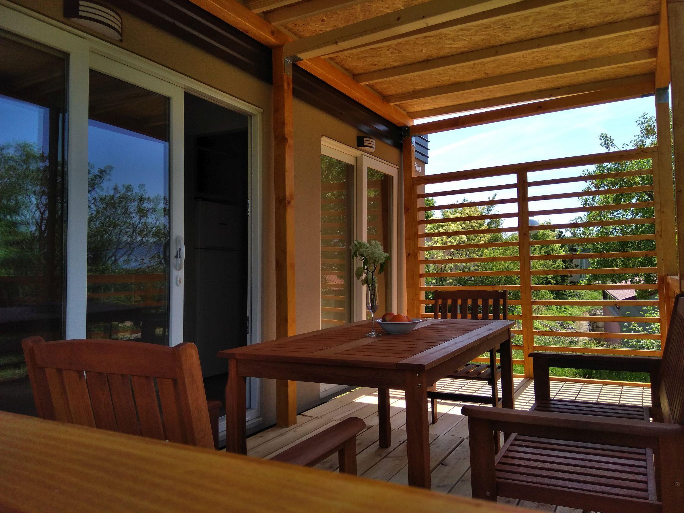 Location - Mobile Homes Queen Campagna 38 M2 4+2 Person / Zone Premium - Camping Klenovica