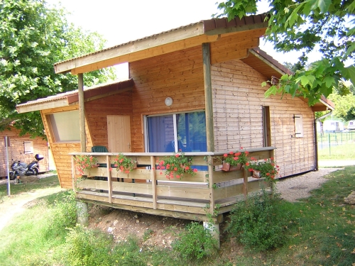 Accommodation - Chalet - Camping Vallée de l'Ain
