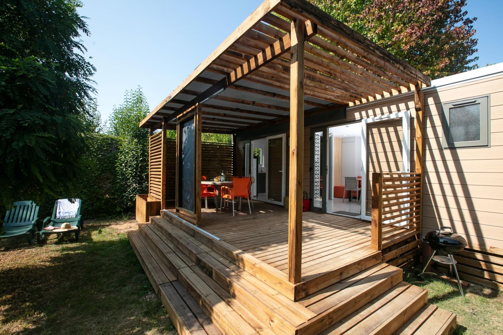 Location - Cottage Confort Plus 2 Chambres - Camping Le Paradis