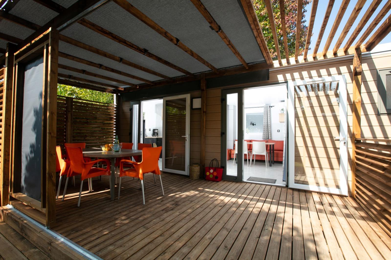 Location - Cottage Confort Plus 3 Chambres - Camping Le Paradis