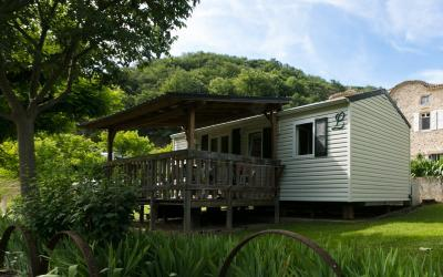 Accommodation - Mobile Home 'La Muzolaise (30M² With Terrace) - Camping Le Castelet