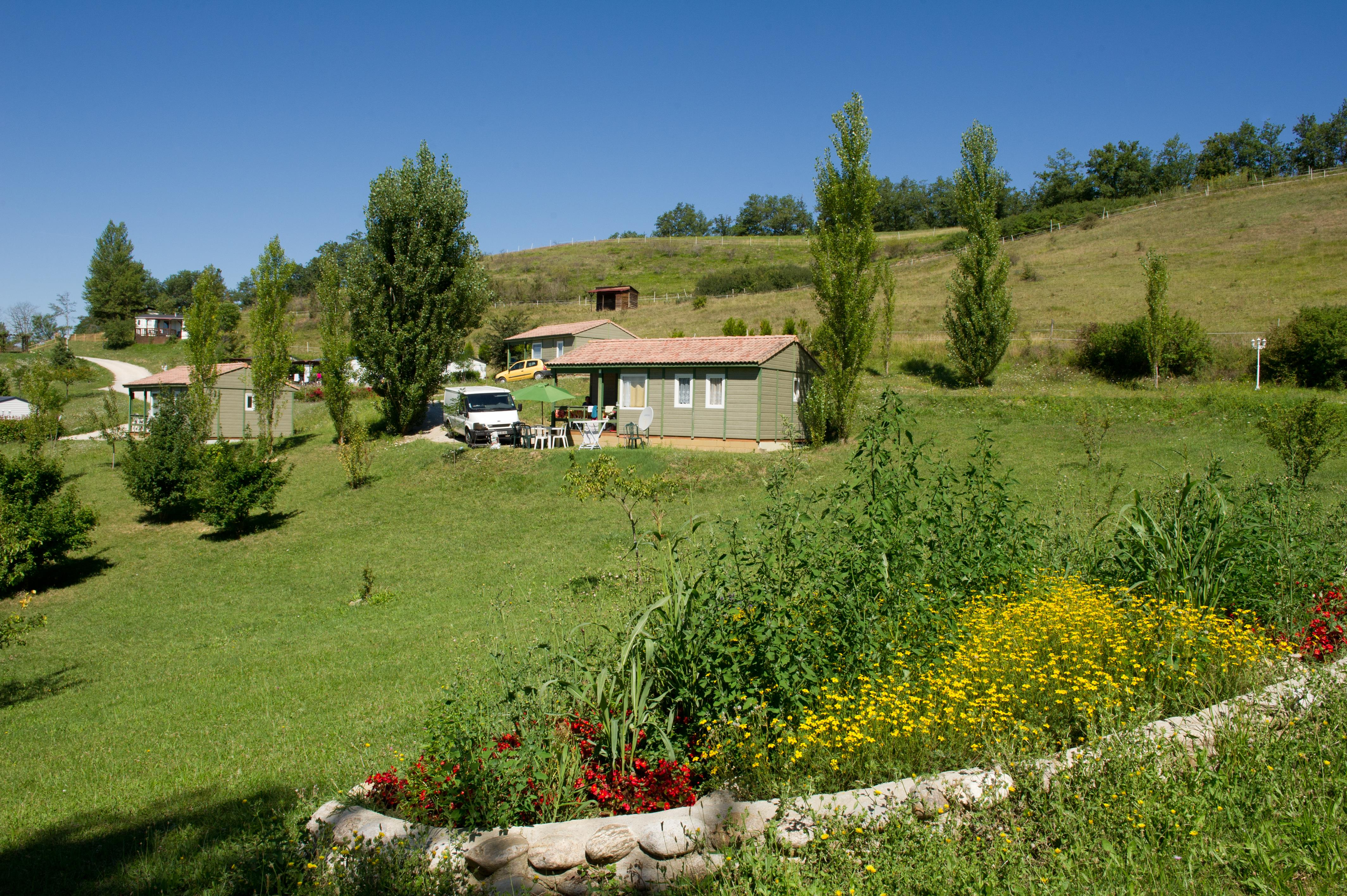 Camping le Bourdieu, Durfort, Ariège