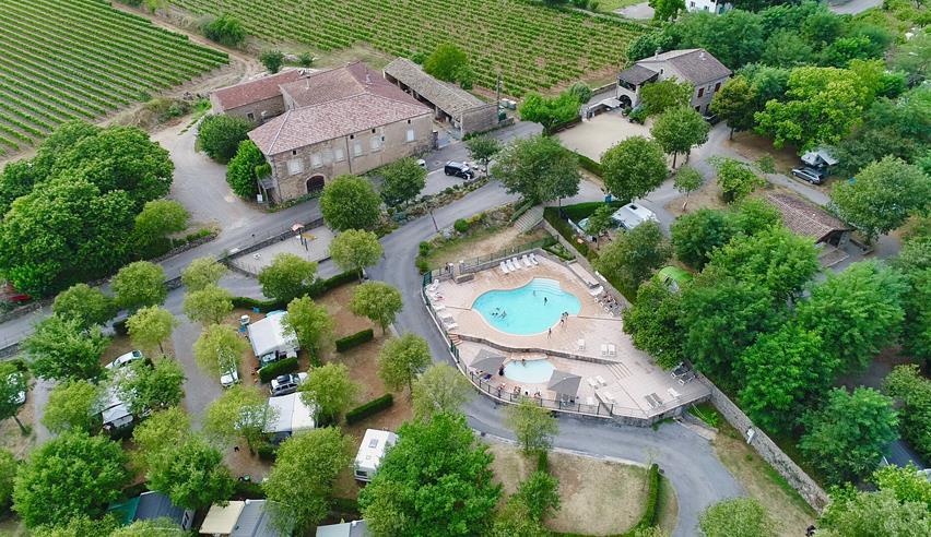 Camping les Châtaigniers, Laurac-en-Vivarais, Ardèche