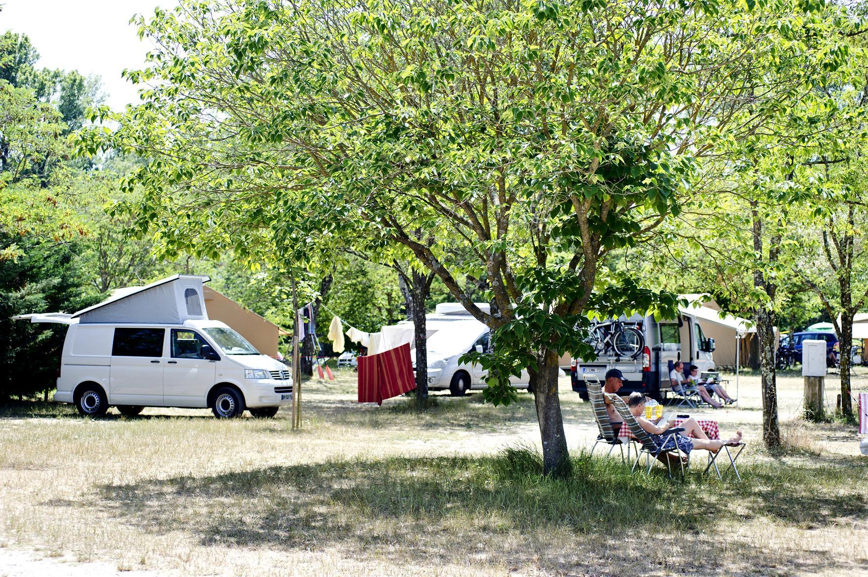 Camping Huttopia le Moulin, Saint-Martin-d'Ardeche, Ardèche