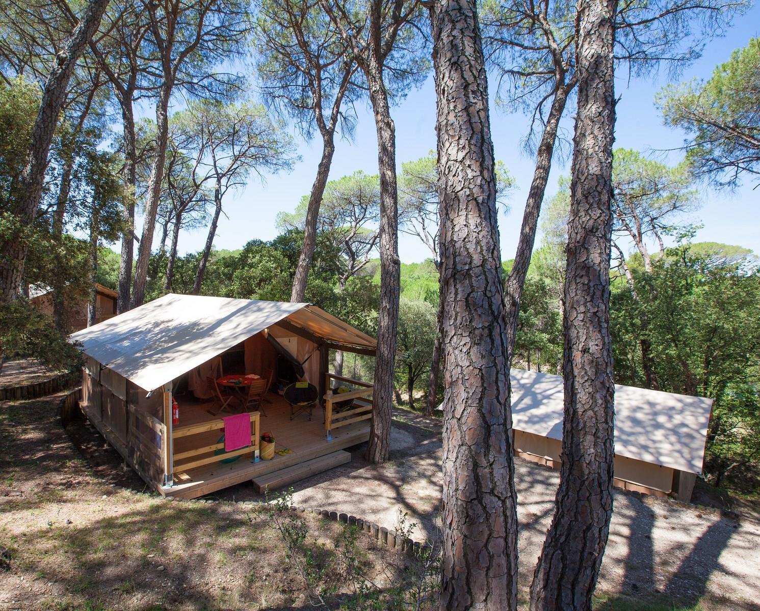 Camping le Mas de Reilhe, Crespian, Gard